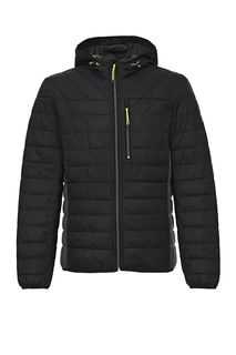 Демисезонная стеганая куртка с трикотажными вставками Tom Tailor