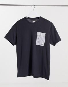 Черная футболка Helly Hansen Lomma-Черный