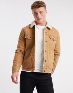 Куртка на меховой подкладке Levis Type 3-Коричневый Levis®