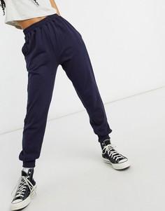 Темно-синие джоггеры In The Style x Siannise Fudge-Темно-синий