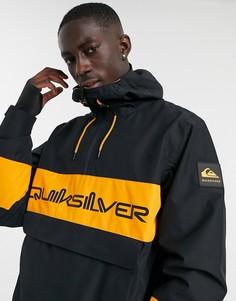 Черная горнолыжная куртка Quiksilver Steeze-Черный