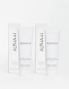 Увлажняющее корректирующее средство для лица с защитой от ультрафиолета Alpha-H Essential Skin Perfecting Moisturiser SPF15 - две штуки в упаковке - ЭКОНОМИЯ 40%-Бесцветный