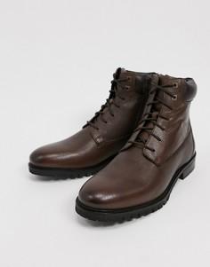 Ботинки из искусственно мягкой кожи River Island-Коричневый