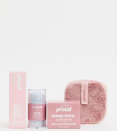 Набор средств для ухода за кожей Skin Proud X ASOS Exclusive Skin Heroes (стоимость £40)-Бесцветный Lottie