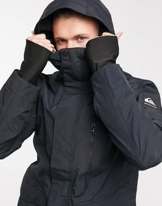 Черная горнолыжная куртка Quiksilver Mission 2L Gore-Tex-Черный