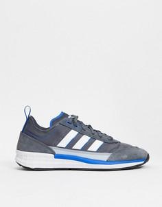 Серые кроссовки adidas Originals SL 7200-Серый