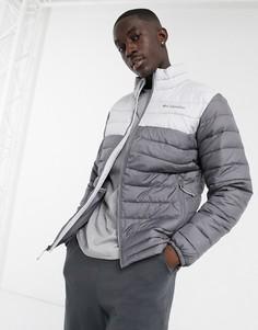 Серая куртка Columbia Powder Lite-Серый