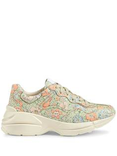 Gucci кроссовки с принтом Liberty