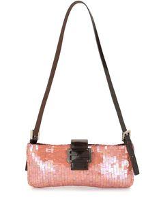 Fendi Pre-Owned сумка на плечо с пайетками