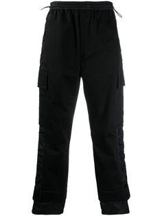 MCM спортивные брюки с атласными полосками