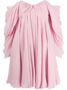 Giambattista Valli расклешенное коктейльное платье с открытыми плечами