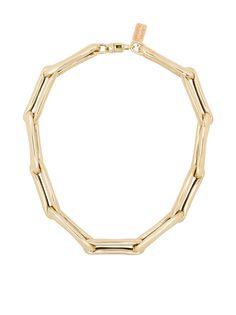 Lauren Rubinski колье из желтого золота