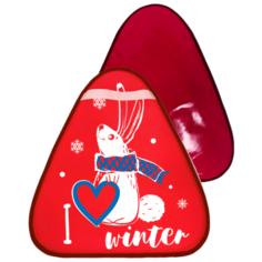 Ледянка Rich Toys Зайчик 48х42 см красный
