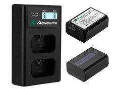 Аккумулятор Powerextra NP-FW50 + зарядное устройство 18496