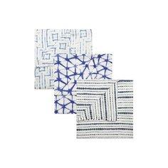 Комплект из трех пеленок Aden+Anais