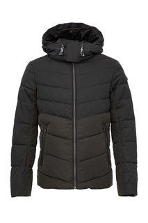 Демисезонная куртка цвета хаки на молнии Tom Tailor
