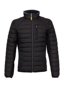 Короткая демисезонная куртка с трикотажными вставками Tom Tailor
