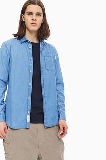 Рубашка мужская Jack & Jones 12174066 синяя S INT
