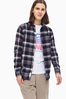 Рубашка мужская Jack & Jones 12174830 синяя M INT