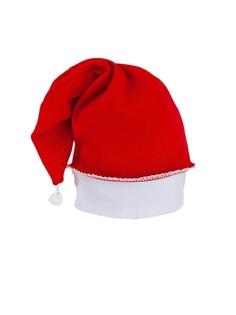 """Шапочка для новорожденных """"Новогодняя"""", размер: 46-48 см, цвет: красный Triya"""