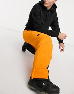 Желтые горнолыжные брюки Quiksilver Boundry-Желтый