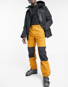 Оранжевые горнолыжные брюки The North Face Up and Over-Коричневый