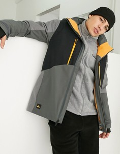 Серая горнолыжная куртка Quiksilver Mission-Серый
