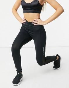Черный спортивные тайтсы с завышенной талией для силовых тренировок Only Play Opal