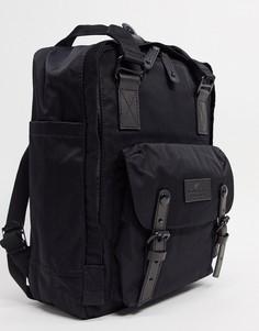 Черный рюкзак Doughnut