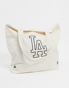 Белая сумка-тоут New Era-Белый