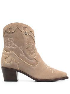 Sophia Webster ботинки Shelby на скульптурном каблуке