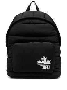 Dsquared2 рюкзак с нашивкой-логотипом