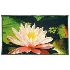 Ковер Shahintex Fantasy icarpet 007, размер: 0.6х0.4 м, зеленый/розовый