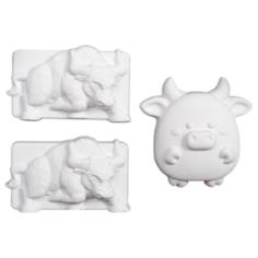 Хорошие сувениры Набор под раскраску Год быка №2 (5194314)