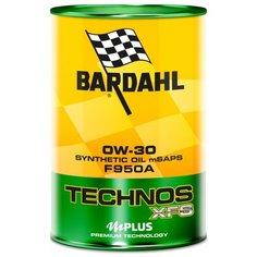 Моторное масло Bardahl Technos C60 XFS F950A 0W-30 1 л