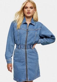 Платье джинсовое Topshop
