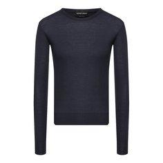 Пуловер из смеси кашемира и шелка Giorgio Armani