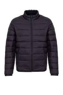 Демисезонная черная куртка на молнии Jack & Jones