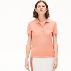 Поло женское Lacoste PF54625MM розовое 32