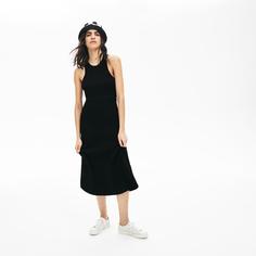 Повседневное платье женское Lacoste EF4271031 черные 38