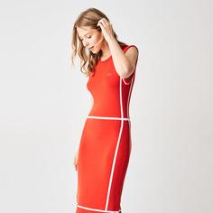 Повседневное платье женское Lacoste EF006060R красное 36