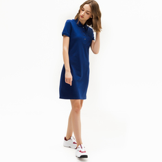 Платье-футболка женское Lacoste EF5473F9F синее 34