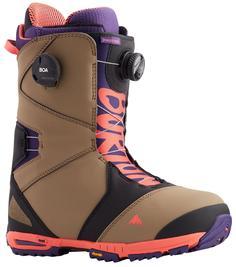 Ботинки Для Сноуборда Burton 2020-21 Photon Boa Ash/Purple/Pop Red (Us:11)