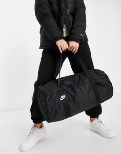 Черная спортивная сумка Nike-Черный