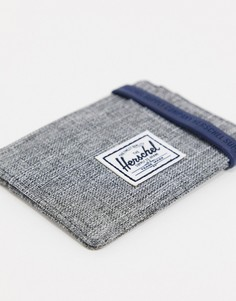 Серая визитница Herschel Supply Co Charlie-Серый