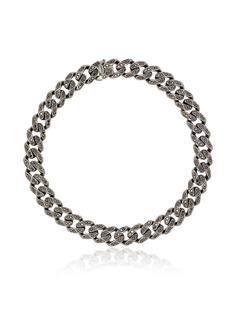 SHAY браслет из черного золота с бриллиантами
