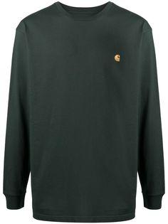 Carhartt WIP футболка Chase с длинными рукавами