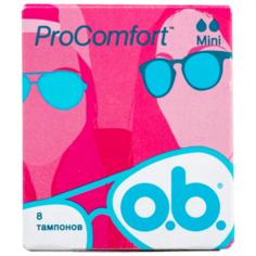 O.b. тампоны ProComfort Mini 8 шт.