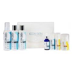 Icon Skin набор №3 Совершенная кожа 360° для лечения акне тяжелой степени 7 средств