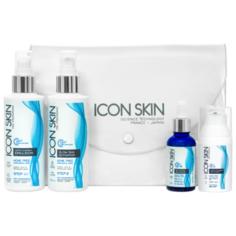 Icon Skin набор №1 Преображение для лечения акне лёгкой степени 4 средства